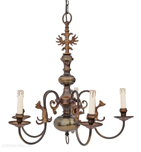 Antique Bronze Chandeliers Antiques Atlas Flemish 5 L Brass Bronze Chandelier