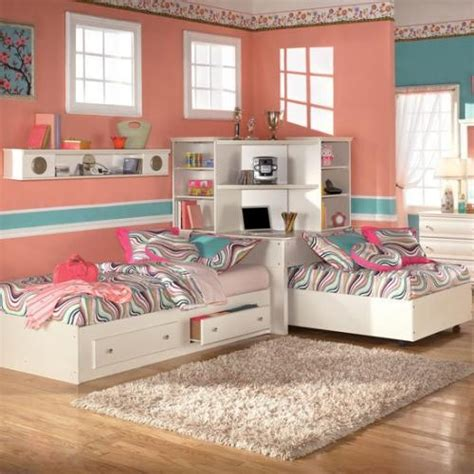 unique kids bedroom furniture unique idea for two beds in a kids room i like that the