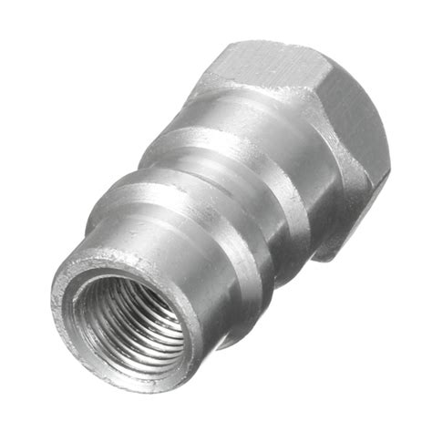 Adaptor 12 Volt 8 5 Ere B10 N2322 1 4 inch 8v1 valve conversion connector r12 r22 r502 to r134a adapter alloy alex nld
