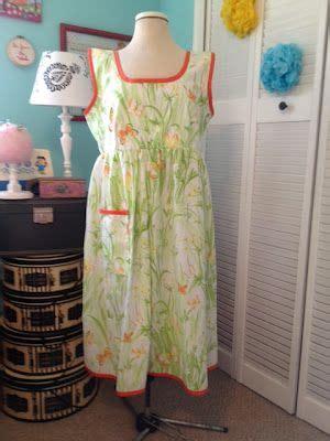 bed dress i made this vintage bedsheet dress handmade dresses