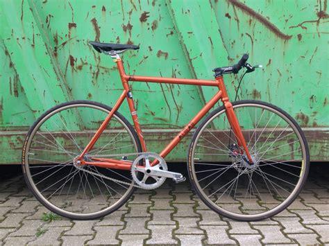 Handmade Steel Bicycle Frames - track handmade steel bike frames