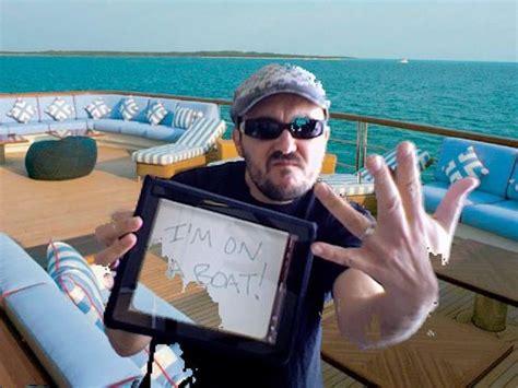 i m on a boat year happy new year i m on a boat wwdn in exile
