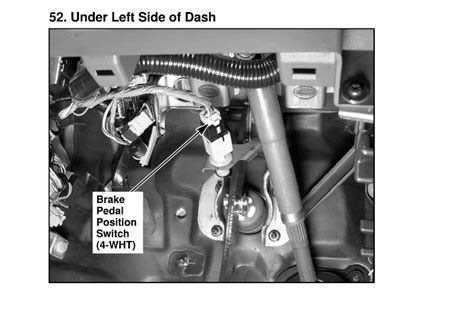 honda accord brake light switch replacing a brake light switch in a honda accord