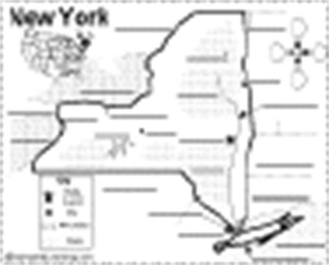label new york state map printout enchantedlearning com new york facts map and state symbols