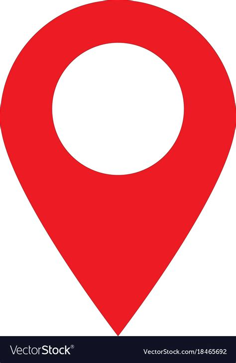 web locations location pin icon on white background location vector image