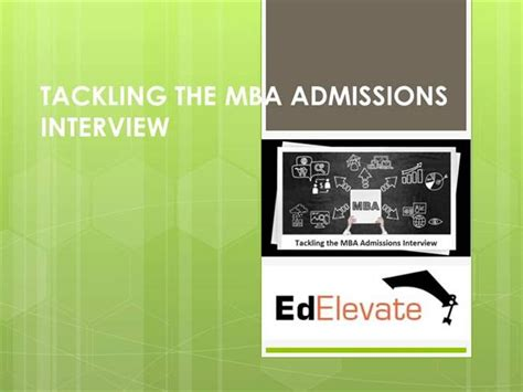 Entry Requirements For Mba In Usa by Mba Admission In Usa Mba Interview Authorstream