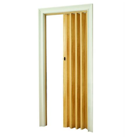 Fold Away Doors Interior Spectrum 32 In X 80 In Fusion Vinyl White Accordion Door Prfu3280wh The Home Depot