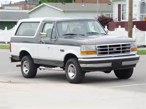 1994 Ford Bronco Xlt 1994 Ford Bronco Pictures Cargurus