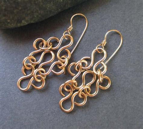 Handmade Metal Jewelry Ideas - 14k gold filled earrings gold filigree earrings artisan
