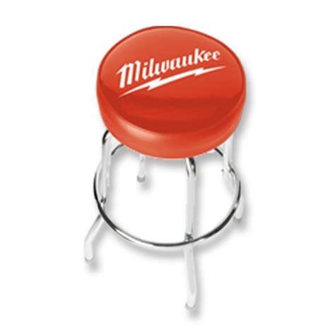 milwaukee power tools counter stool workshop