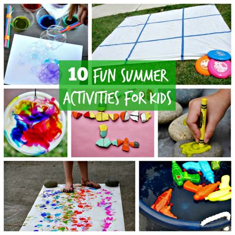 10 Summer Activities by 10 Summer Activities For