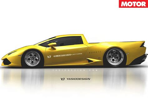 Lamborghini Ute Supercars Rendered As Wagons And Utes Motor