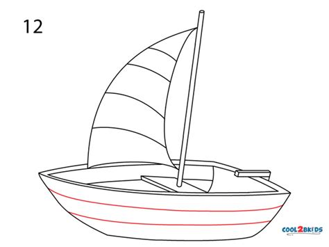how to draw a boat step by step easy how to draw a boat step by step pictures cool2bkids