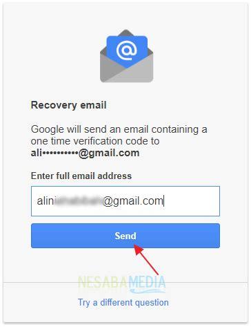 email pemulihan lupa password gmail reset ulang saja lengkap gambar