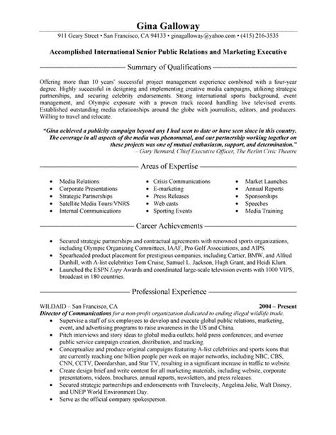 Pr Resume by 266 Best Resume Exles Images On Best Resume