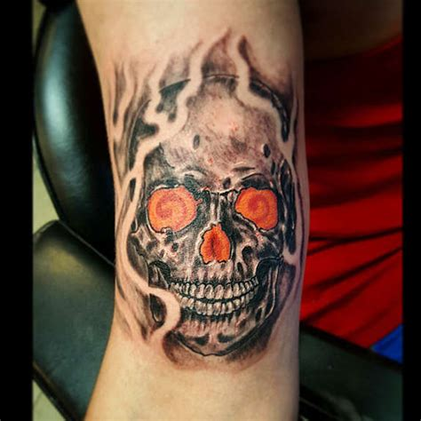 crazy skull tattoo designs 119 badass skull tattoos and designs