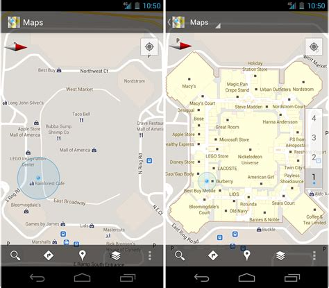 maps for android maps for android 6 0 adds indoor coverage new places screen