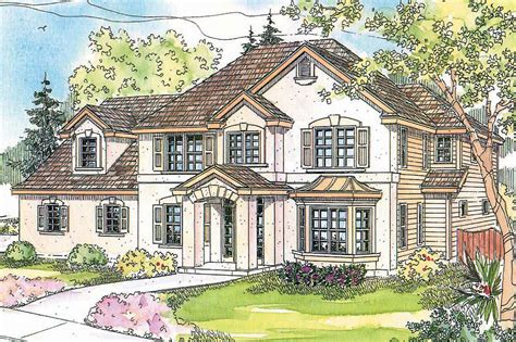 European House Plans by European Style House Plans