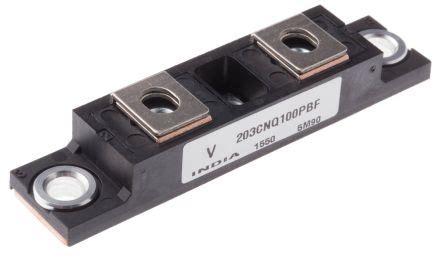 schottky diode vs pin diode vs 203cnq100pbf vishay vs 203cnq100pbf dual schottky diode module common cathode 100v 200a