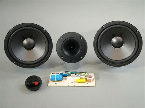 Kit 3 Way Sound Crossover Bass high end speaker kit 6 1 2 quot ess woofers cerwin horn tweeter boston acoustics dual 2 way