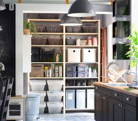 kitchen storage furniture ikea ikea storage organization ideas 2012 digsdigs