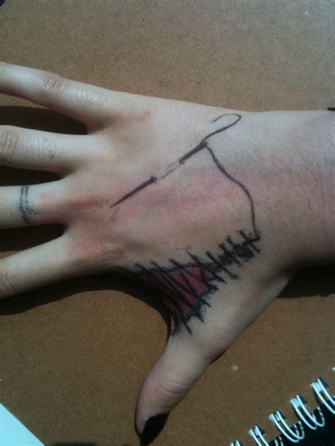 tattoo needle thread needle and thread by shadowgirl19765 on deviantart