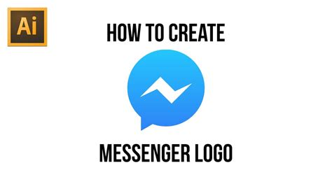 adobe illustrator cs6 how to make a logo free vector files how to create messenger logo adobe