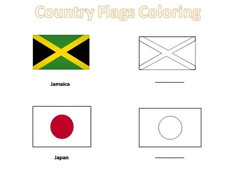 speaking countries flags coloring pages free coloring pages