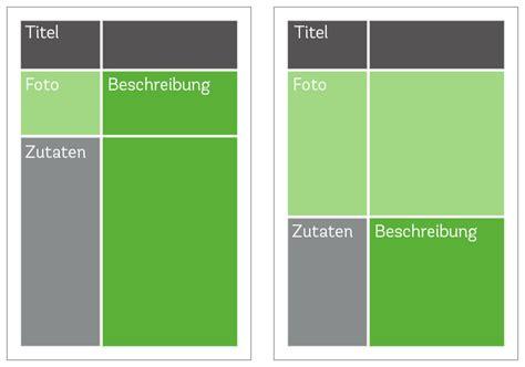 kochbuch layout word schritt f 252 r schritt kochbuch selbst gestalten epubli