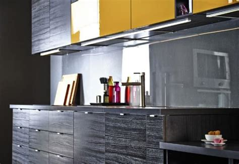 yellow black kitchen black and yellow color schemes for modern kitchen decor