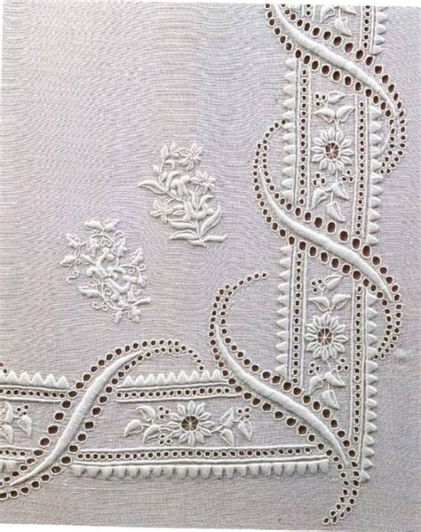 libro embroideries 2817 best images about white on white embroidery on hand embroidery tablecloths and
