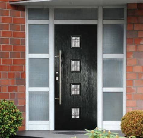 Contemporary Composite Front Door New Range Of Composite Doors D H Windows Composite Doors Conservatories And Solid