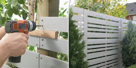 Decorative Cinder Blocks Home Depot Modern Privacy Fence Ideas For Your Outdoor Space