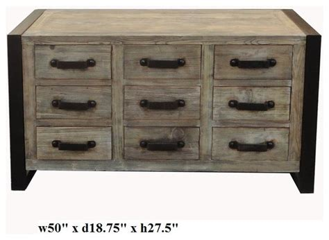 raw wood dresser simple rough raw wood dresser cabinet with iron hardware