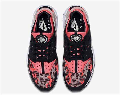 pink pattern huaraches nike air huarache woven toe sneaker bar detroit