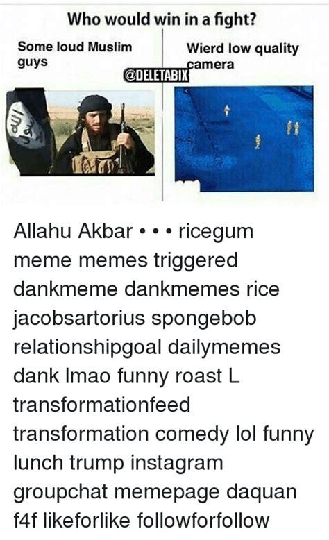 Allahu Akbar Meme Spongebob