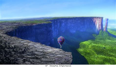 up film waterfall pixar s up wasn t perfect some of its flaws rotoscopers