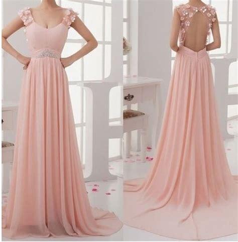 light pink long dress one shoulder simple light pink long dress ebay