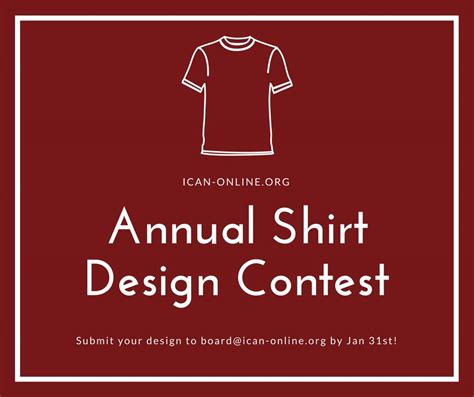 design contest 2018 cam 2018 t shirt design contest ican of northern virginia