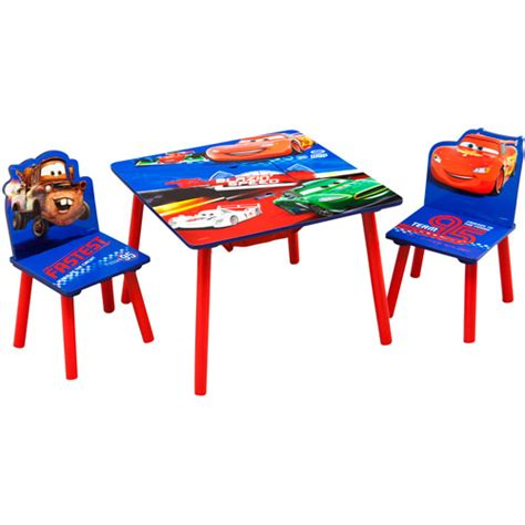 cars table and chairs disney cars storage table and chairs set walmart