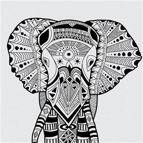 tribal pattern animals inca phant inspiration pinterest tribal elephant