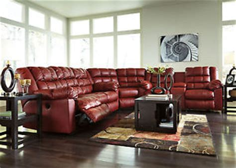 sierra red bonded leather sofa loveseat living room auburn 3pcs red bonded leather recliner sofa couch
