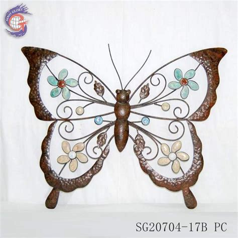 Butterfly Frames Wall Decor Wholesale China Wholesale Home Decorative Wall Hangings Metal