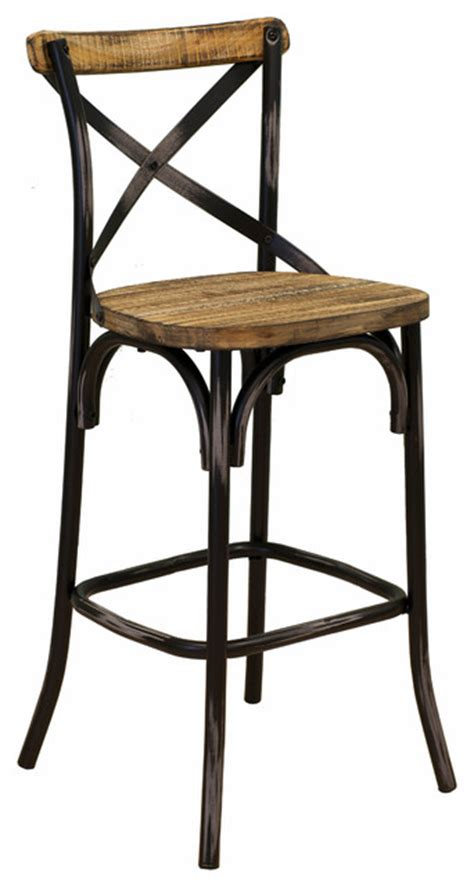 rustic kitchen stools uk barkley reclaimed wood counter stool rustic bar stools