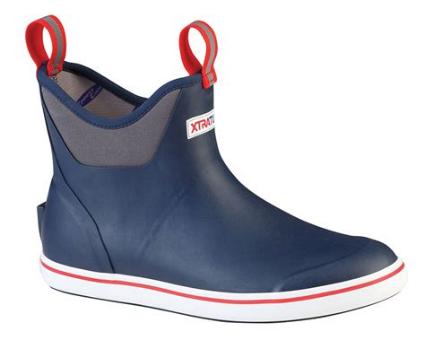 deck boots xtratuf 22733 ankle deck boot navy tackledirect