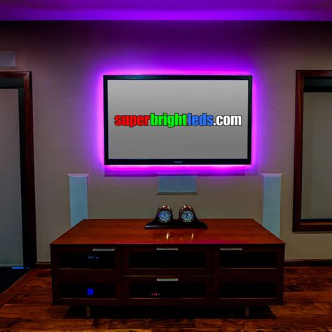 How To Decorate A 1 Bedroom Apartment nfls rgb150 kit color changing flexible led light strip