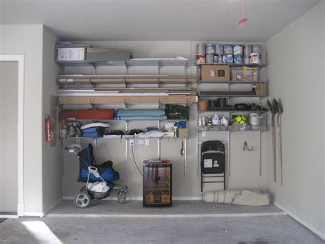 Garage Shelving Fixed To Wall Garage Shelving Ideas To Make Your Garage A Versatile