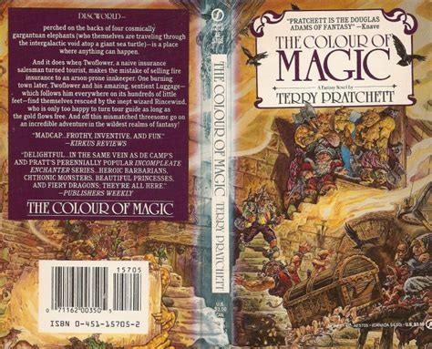 the color of magic book publication the colour of magic