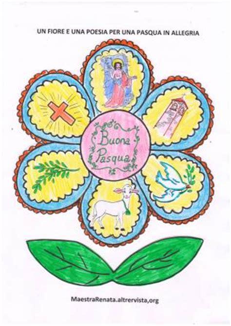 poesia fiore festa di pasqua in allegria con un fiore e una poesia