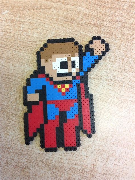 superman perler 1000 images about perler and animation
